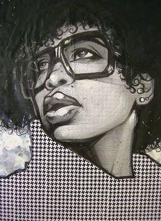 Facebook: NaturallyVicki Kinkycurlylove #art #artwork #drawing #drawings #ink #penandink #sketchbook #worksonpaper #sketchbookdrawing #illustration #dibujo