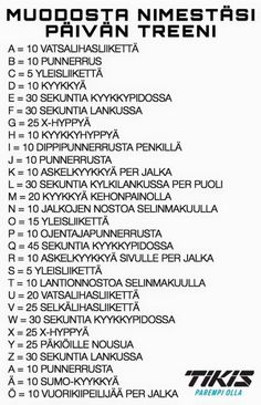 Kuvahaun tulos: kuntopiiri lapsille Motivation Inspiration, Fitness Inspiration, Classroom Fun, Sport Motivation, Kids Sports, Physical Education, Excercise, Healthy Tips, Good To Know