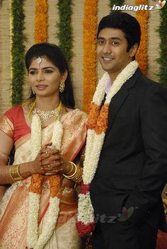 Vijay At Rahul Chinmayi Wedding Reception