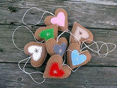Dadyart / Srdiečka perníčkové Sugar, Cookies, Crack Crackers, Biscuits, Cookie Recipes, Cake, Cookie