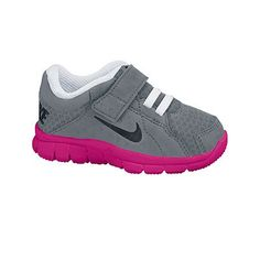 toddler gray and blue nike shoes girls velcro 845420