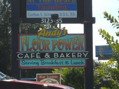 Andy's Flour Power Cafe & Bakery. Panama City, FL (breakfast & lunch)
