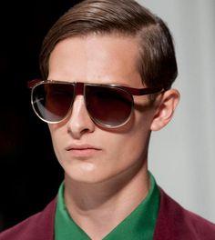 Prada Sunglasses Spring 2013 Menswear       .