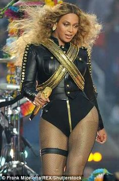 Beyonce Knowles Carter in a Dsquared2 jacket