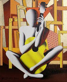 Mark Kostabi with Biography Art Pictures, Art Images, Mark Kostabi, Tokyo Museum, New York Galleries, Gallery Of Modern Art, Flash Art, Italian Art, Figure Painting