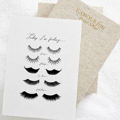 496ebb855d5 Eye Lashes Fashion Print, Wall Decor, Minimal Art, Glamour, Fashion Wall  Art, Fashion Poster, Beauty, Bedroom Decor, DIGITAL DOWNLOAD