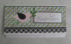 Kerstin's kleine Bastelwelt: Zur Konfirmation; Gift Card Holder