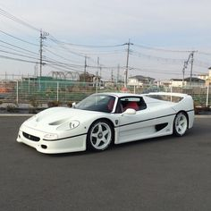 White F50  • Follow @luxcarz for awesome luxury cars! @luxcarz @luxcarz (pic by @tetsugt55)
