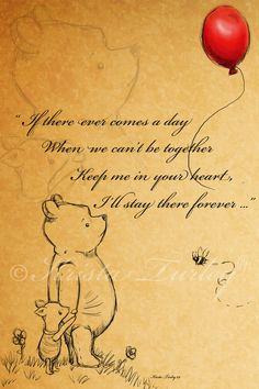 Classic Winnie The Pooh Quotes | Keep Your Heart Kiekari Deviantart