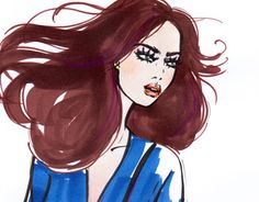 """Check out new work on my @Behance portfolio: """"Fashion sketch"""" http://be.net/gallery/38391049/Fashion-sketch"""