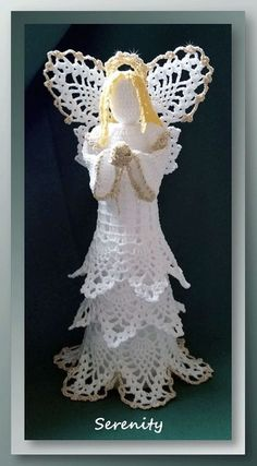 Free Crochet Angel Patterns for Holidays and Decor