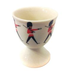 egg cup. I would use it for veggies and dip. :D