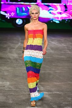 Crochet Colourful Fashion Diagrams