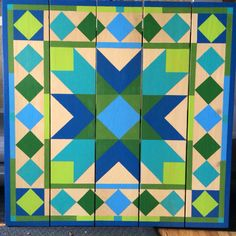 In to the Blue Barn Quilt