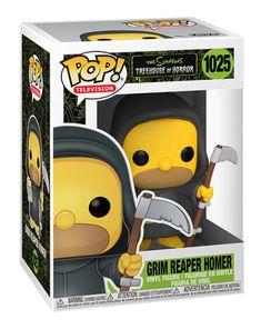 Simpsons Treehouse Of Horror, Funko Pop Dolls, Pop Toys, Pop Television, Pop Vinyl Figures, Grim Reaper, Funko Pop Vinyl, Horror Stories, Nerd Jokes