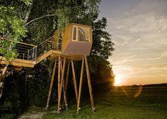 Pin Von Kristi Hatrock Auf Treehouses | Pinterest | Baumhaus Und ... Das Magische Baumhaus Von Baumraum