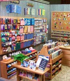 Scrapbooking shop in miniature!