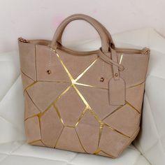 Fashion patchwork nubuck genuine leather women handbags New 2014 famous  brand scrub shoulder bag bucket tote 8626a93757