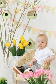 детки, декор фона, весна