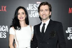 Marvel's Jessica Jones Stars David Tennant & Krysten Ritter < They both are so good in the show, they made a perfect good guy bad guy pairing.