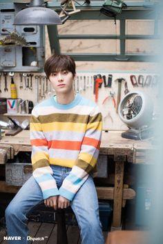 Dispatch channel vlive update The warmest morning with Nu'est's 5 sunshine boys Busan, Shanghai, Arin Oh My Girl, Nu Est Minhyun, Ong Seongwoo, Kim Jaehwan, Ha Sungwoon, Pledis Entertainment, Shownu