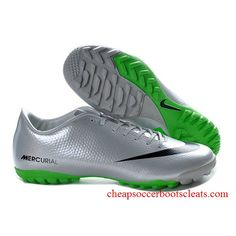Buy Nike Mercurial Vapor IX TF Cristiano Ronaldo Victory V Silver Black  Green Football Boots 16117645b3