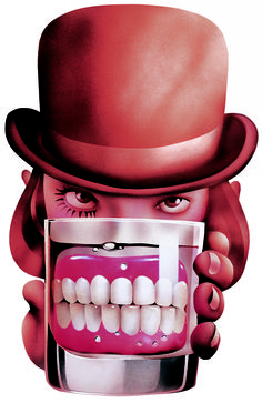 Alex with False Teeth ● Limited Editions by Philip Castle