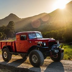 Classic Dodge Power Wagon meets.