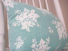 12X12 Sea Foam Green Decorative Pillow  / by SimplyCharmingStore, $11.90