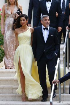 George Clooney and his leading lady Amal Clooney made a glamorous entrance as they arrived at Cannes Film Festival on May 12, 2016.