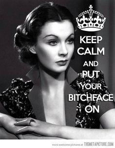 Just Keep Calm…