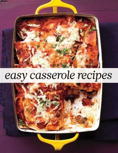 Easy Casserole Recipes | Martha Stewart Living