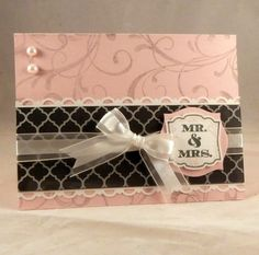 Smoky Mr. & Mrs. by aj_goofy - Cards and Paper Crafts at Splitcoaststampers