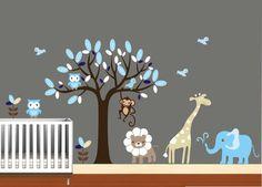 Nursery Wall Art - African Safari