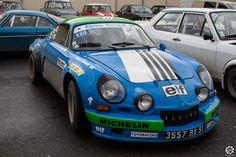 #Alpine #A110 au rallye Hivernale Vallée. Reportage complet : http://newsdanciennes.com/2015/11/29/retour-a-lhivernale-vallee/ #Voitures #Anciennes #Vintage #ClassicCar
