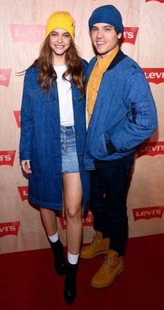 The perfect match: Palvin Barbi and Dylan Sprouse got dressed up for Levi`s event - - Levis, Barbara Palvin, Victoria Secrets, Cute Couples Goals, Couple Goals, Celebrity Couples, Celebrity Photos, Dylan Sprouse Girlfriend, Estilo Hipster