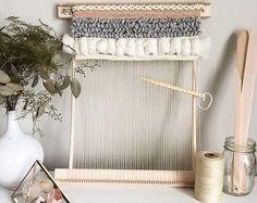 Weaving Travel Loom Kits // Weaving // Woven Wall Hanging