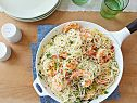 Shrimp Scampi with Angel Hair Pasta Recipe. I added sun dried tomatoes, eliminated parsley. 5/13/14