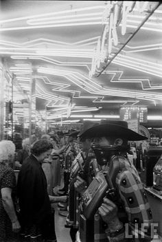 Slot Machines, Las Vegas, 1952