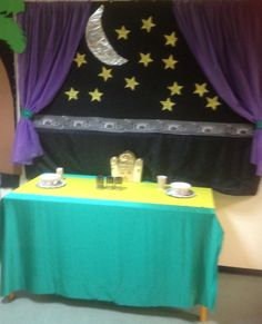 Ramadan thema tafel
