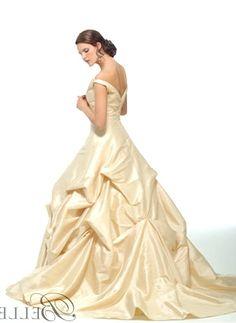 Spectacular disney wedding dresses Just the bottom half