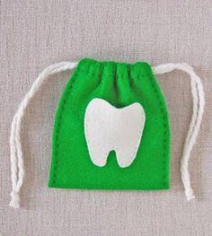 Felt tooth fairy crafts