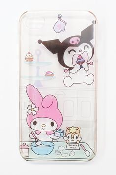 iPhone 4 Kawaii Cute My Melody and Kuromi Sweets by lecocopink, $10.00
