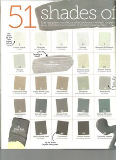 HGTV Magazine Shades of Grey Page 1 @Kayla McIntire