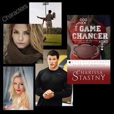 My picks for characters. #GameChanger #RuledOutRomances #CharissaStastny