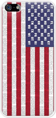 American Flag By Alice Gosling for Apple #iPhone 5  Also available for #Apple #Blackberry #HTC #Nokia #Samsung #Sony #USA #USFlag #Flag #StarsandStripes