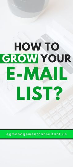 Tips for building an email list - EGM Email Marketing Strategy, Social Media Marketing, Seo Online, Email List, Work From Home Moms, Business Branding, Trust Yourself, Online Business, Wordpress