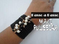 ▶ NM Bijoux - Passo a Passo - Maxi Pulseira - YouTube
