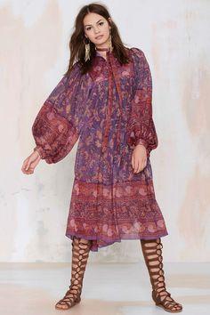 Vintage Iluni Silk Dress