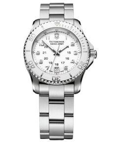 Victorinox Swiss Army Watch, Women's Maverick GS Stainless Steel Bracelet 34mm 249051